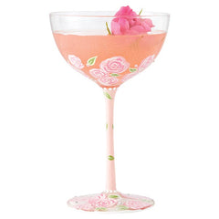 Pink Lady Coupe Glass