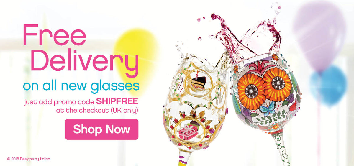 Free delivery on all new glasses