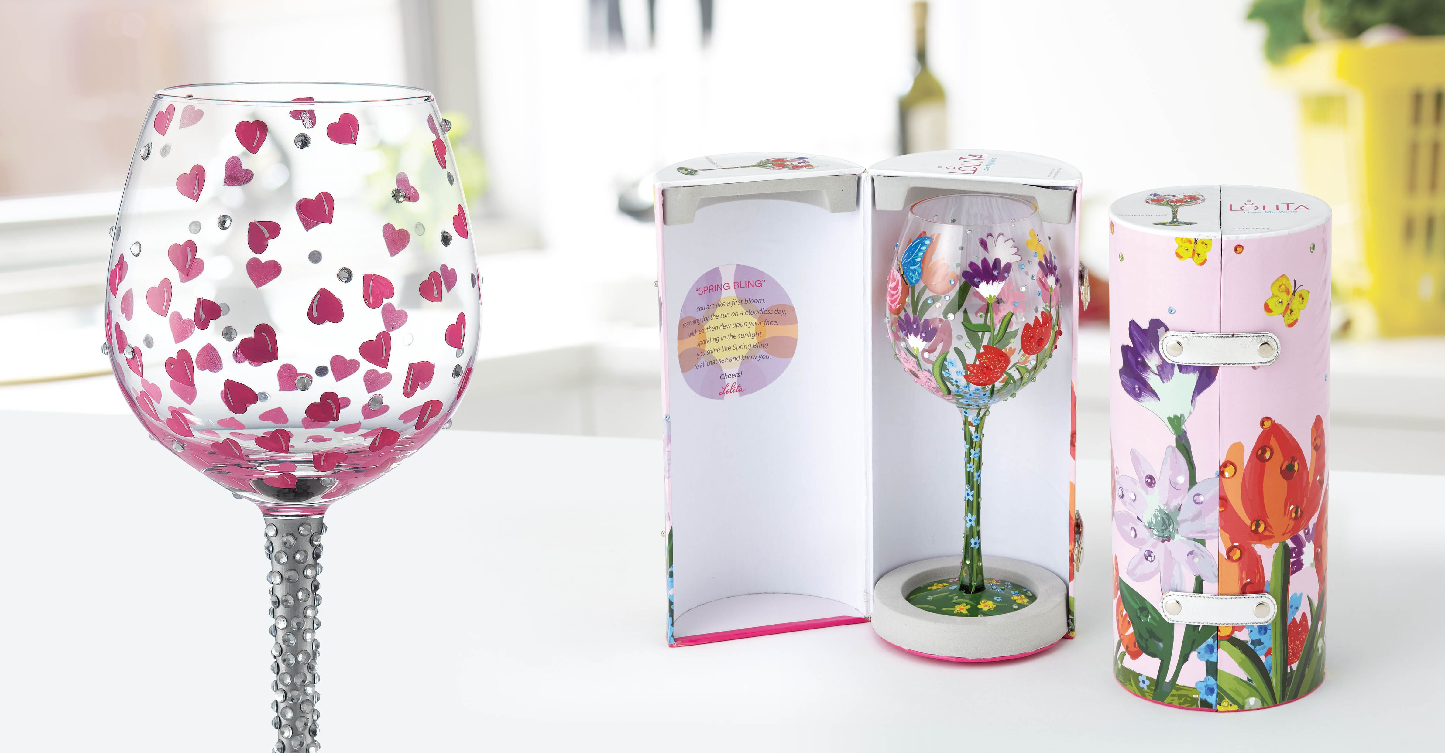 Lolita Superbling Extra Large Wine Glasses