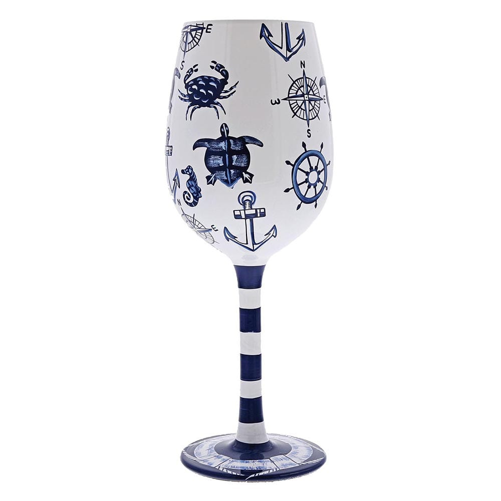 Lolita Set Sail Wine Glass