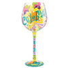 Celebrate! Superbling wine glass