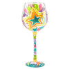 Celebrate! Superbling wine glass reverse