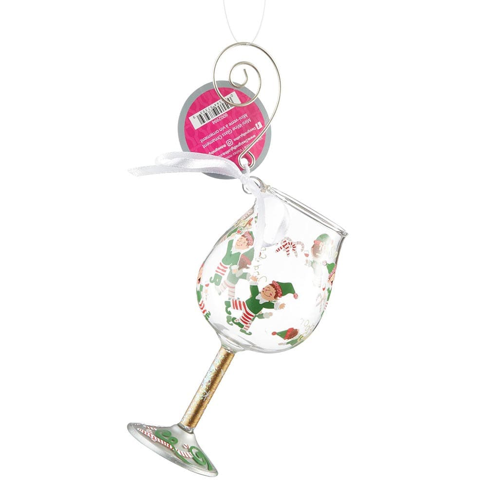 Lolita Tipsy Elf Ornament