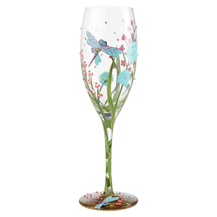 Dragonfly Prosecco Glass by Lolita