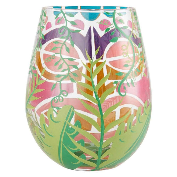 Lolita Tiki, Too Stemless Wine Glass