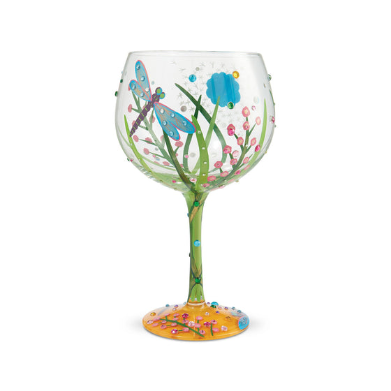Dragonfly Gin Glass by Lolita