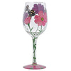 My Drinking Garden Wine Glass by Lolita
