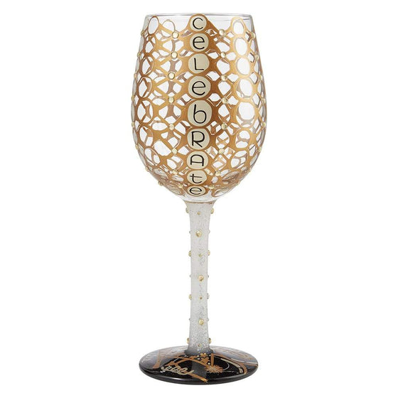 Celebrate Wine Glass by Lolita