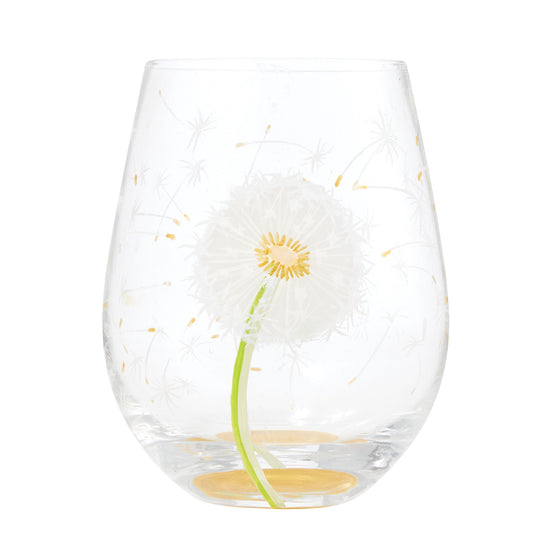 Dandelion Wish Glass by Lolita