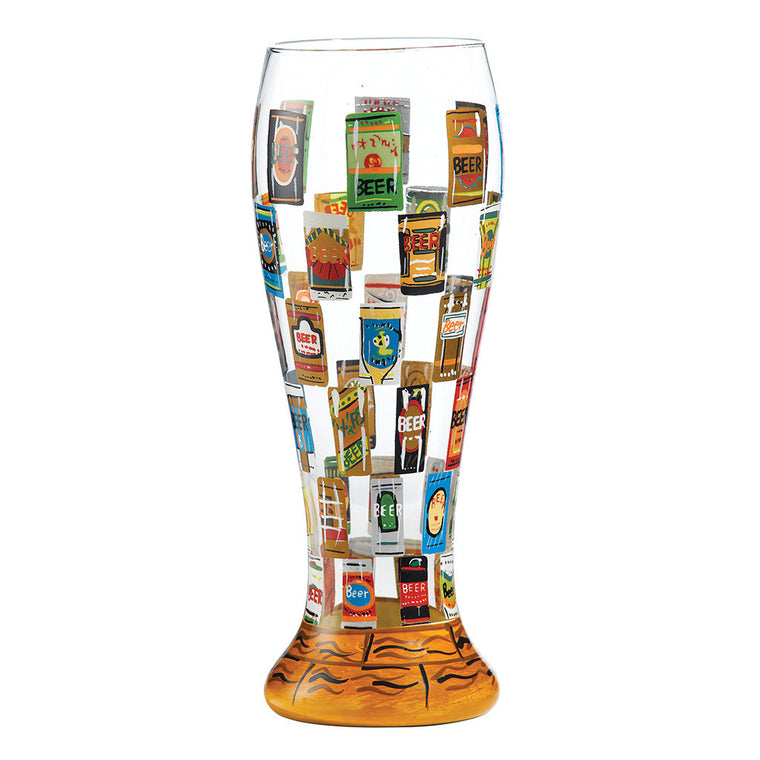 Lolita Beer Wall Beer Glass