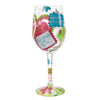 Sister...My BFF Wine Glass by Lolita