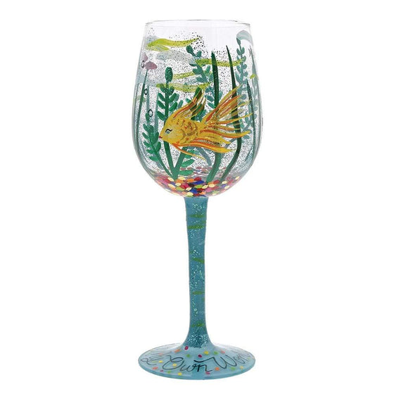 In my own World Wine Glass