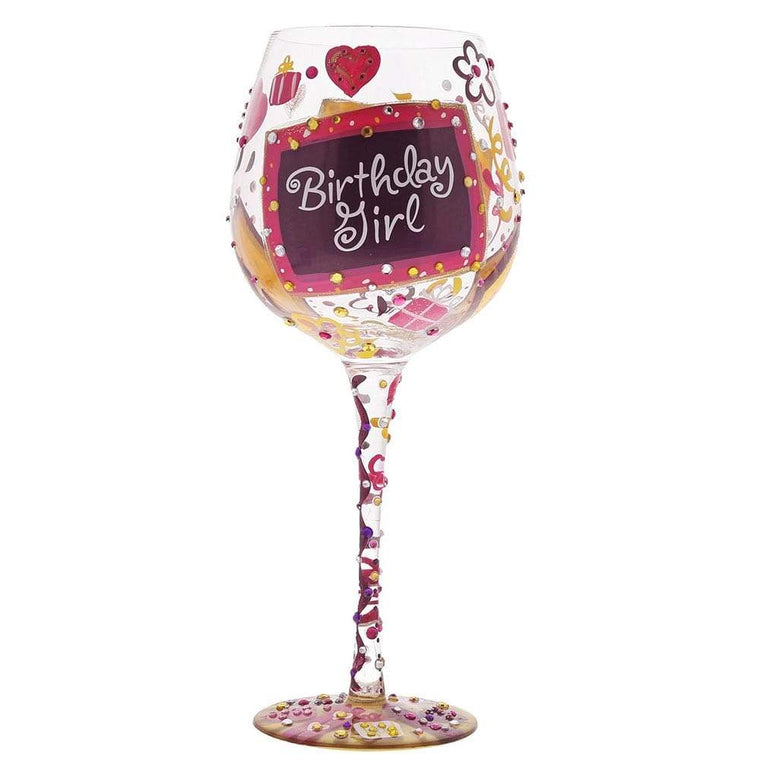 Lolita Superbling Birthday Girl Extra Large Wine Glass