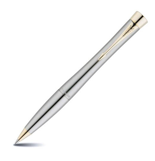 PARKER URBAN STAINLESS STEEL GOLD TRIM BALL POINT XMAS 15 NZ