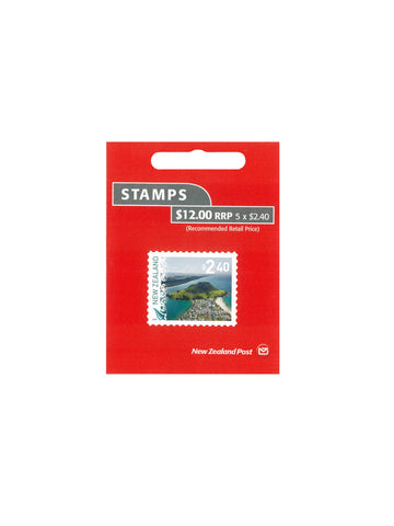 $2.40 Stamp Booklet - 5 Stamps/Book