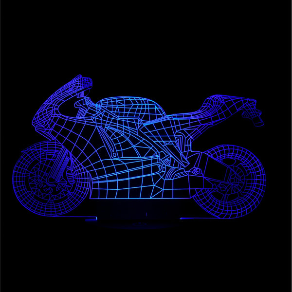 3D Bike Night Light