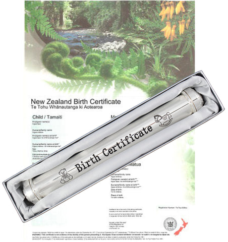 Birth Certificate Holder