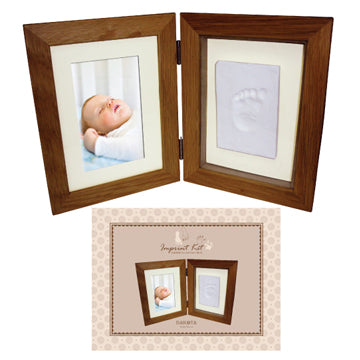Photo Frame With Soft Clay Imprint Kit