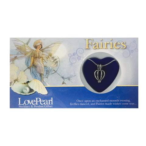 FAIRIES - LOVE PEARL NECKLACE & PENDANT GIFTSET