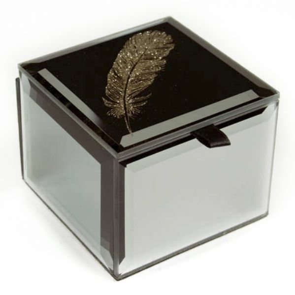 MINI TRINKET BOX FEATHER