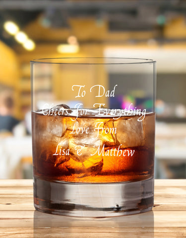 Personalised Glasses For Dad