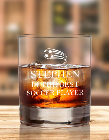 Personalised Glasses For Sports Enthusiastic