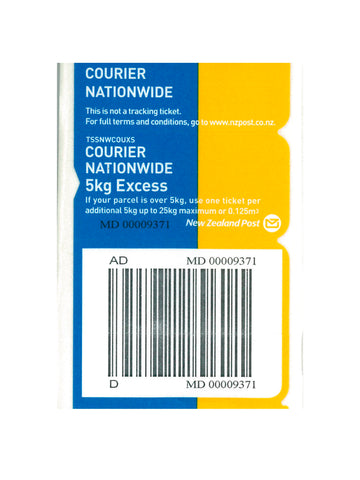 Courier Nationwide Excess Prepaid Ticket - Single