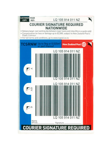Courier Signature Nationwide Base Prepaid Ticket - Single