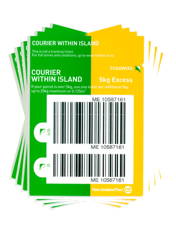 Courier Within Island Excess Prepaid Ticket - Pack