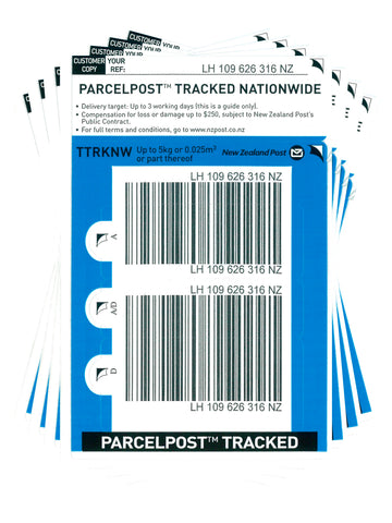Tracked Nationwide Base Prepaid Ticket - Pack