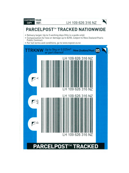 Tracked Nationwide Base Prepaid Ticket - Single
