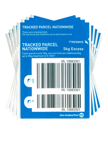 Tracked Nationwide Excess Prepaid Ticket - Pack