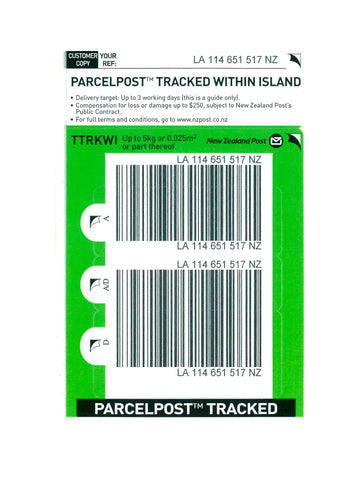Tracked Within Island Base Prepaid Ticket - Single