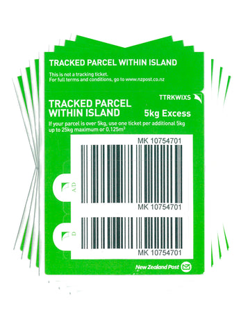 Tracked Within Island Excess Prepaid Ticket - Pack