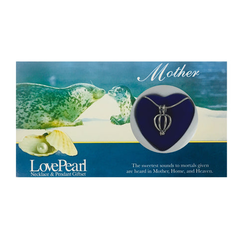 MOTHER - LOVE PEARL NECKLACE & PENDANT GIFTSET