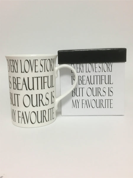Our Beautiful Love Story Mug