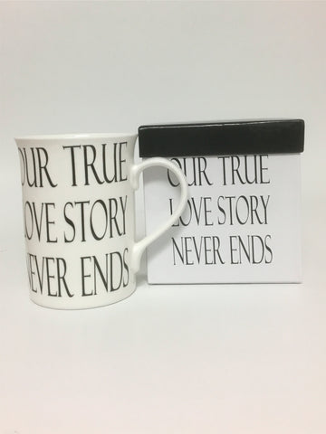 Our True Love Story Mug