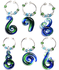 Koru Wine Charms Set