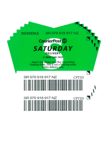 Saturday Delivery Ticket - Pack