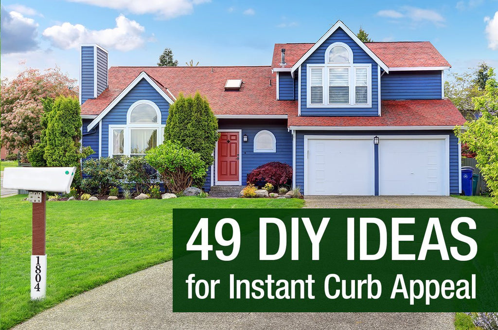 49 DIY Ideas for Instant Curb Appeal