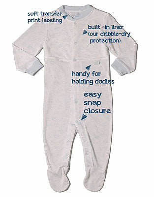 CoziDry Baby Boy's Coverall