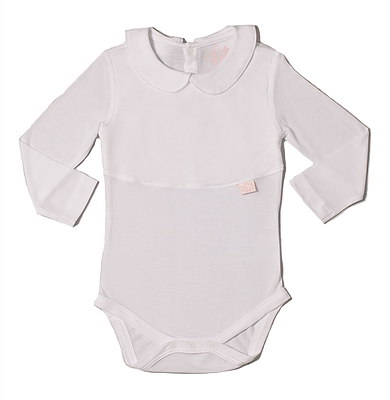 Baby Girl's Peter Pan Collar Onesie