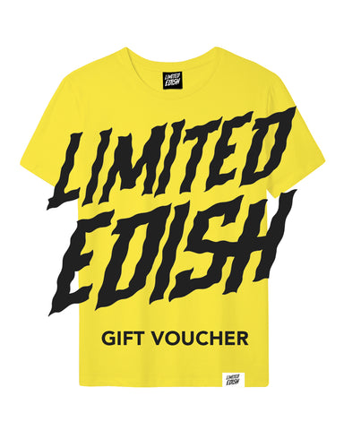 Limited Edish Gift Card