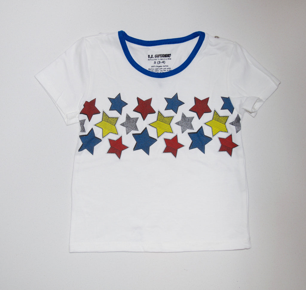 Pop Star Tee (Blue)