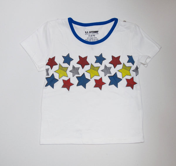 Pop Star Tee (Blue) and Cape