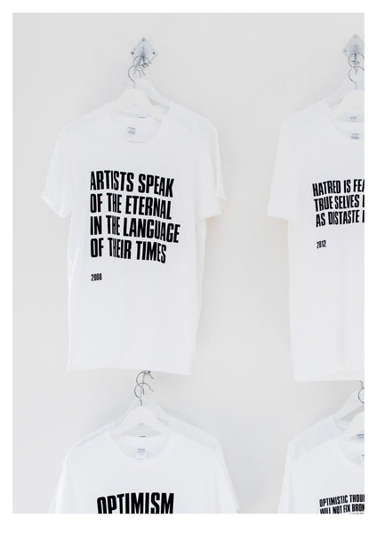 ARTISTS SPEAK OF THE ETERNAL IN THE LANGUAGE OF THEIR TIMES - 2008 - T-Shirt