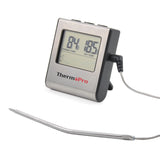 Kabob Set - ThermoPro TP-16 Digital Thermometer & Timer - KonExcel