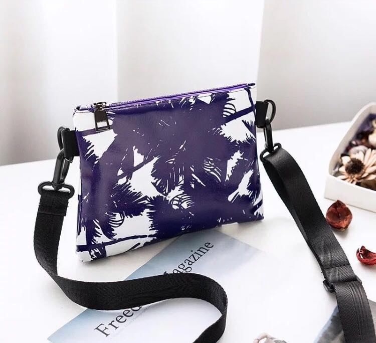 Coconut Printed Sling Bag