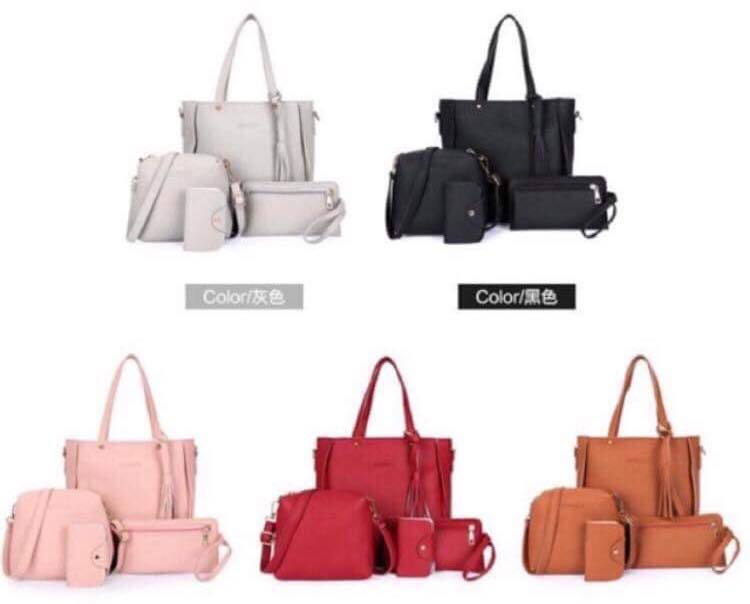 4-in-1 Korean Bag