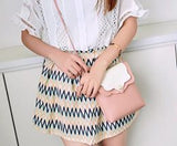 Fashion Simple Tassel Sling Bag